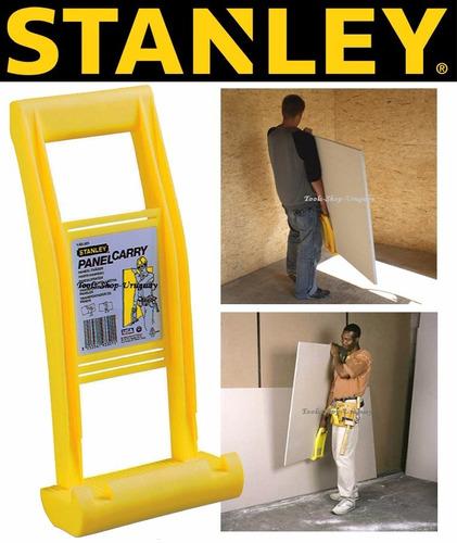 transportador levantador de placas de yeso o madera stanley