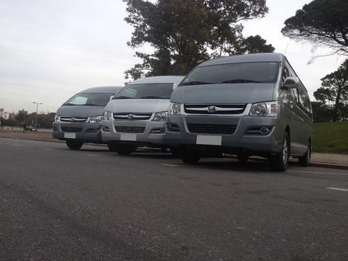 transporte de pasajeros. remises, vans, micros y omnibus