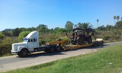 transporte y alquiler de maquinaria, traslados, fletes