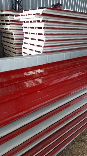 trapezoidal, poliuretano, techo terracota, isopanel