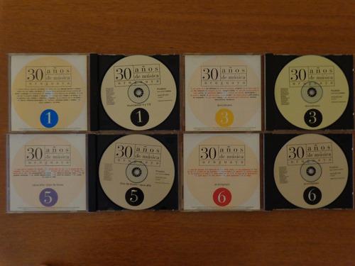 treinta años de música uruguaya cd colección posdata níquel