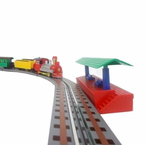trenzinho elétrico mini locomotiva expresso trem braskit