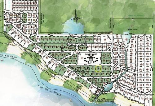 tres terrenos, barrio privado, amenities, puerto, restaurantes, seguridad
