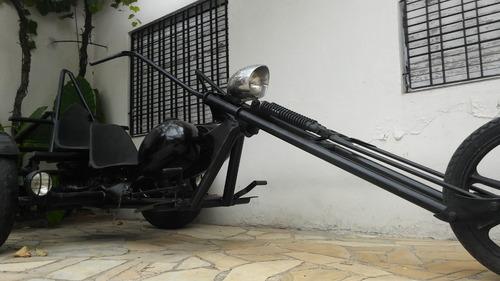 triciclo druida chopper motor volkswagen 1300