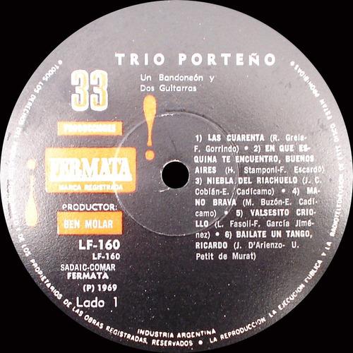 trío porteño - dos guitarras y un bandoneón
