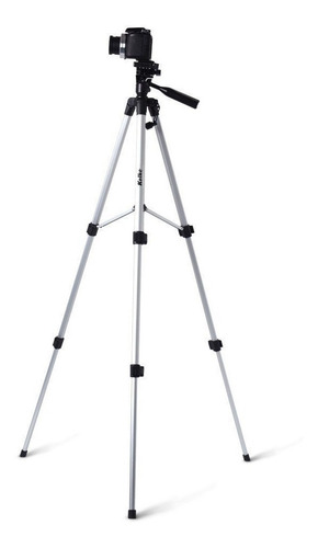 tripode profesional celular  360° pies de goma + estuche ®