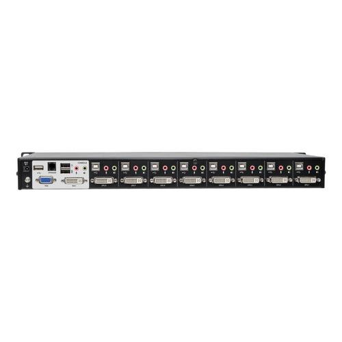 tripp lite 8 port kvm switch dvi usb w audio   usb