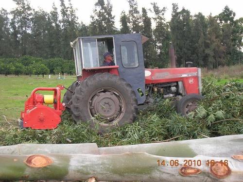 triturador de ramas minos 1.60 mts maquinaria agrícola