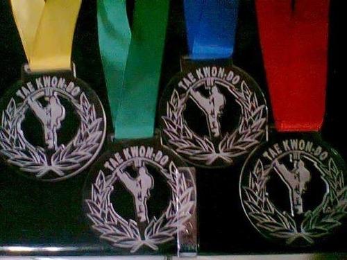 trofeo acrilico taekwondo medalla premio