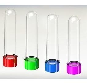 tubitos para souvenirs sin personalizar 13 cm varios colores