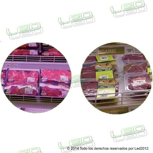 tubo led para carne y alimentos 120 cm - 20w ac100~240v