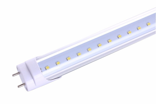 tubo led t8 18w transparente luz fría