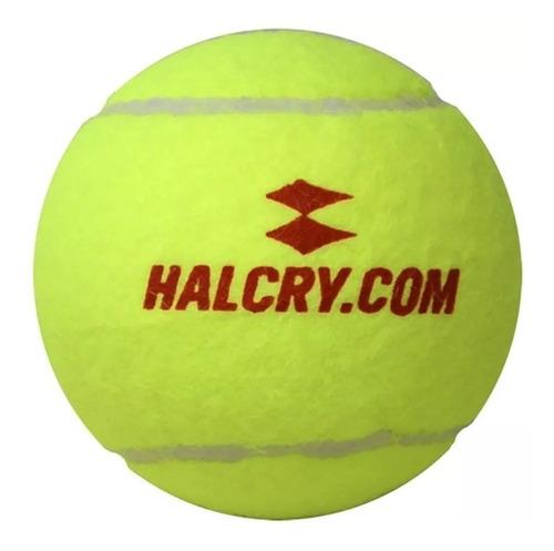tubo pelotas tenis padel halcry sello rojo x3 (promo)
