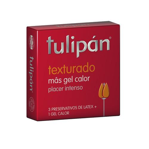 tulipán - texturado x 3 unidades