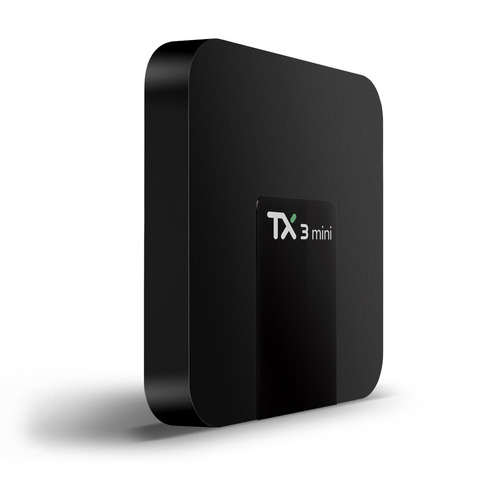 tv android tv-box tx3 mini 2gb + 16gb + teclado futuro21