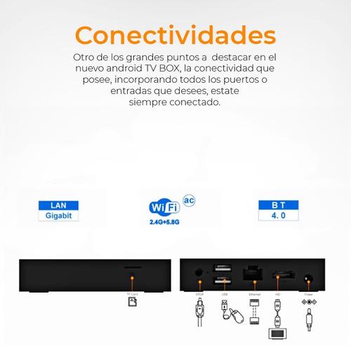 tv box android tx9 pro 3gb de ram y 32gb  - black dog