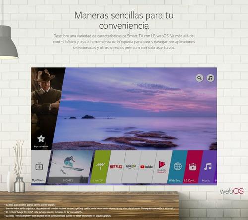 tv lg 50uk6550 4k uhd smart tv 50 - tienda oficial lg