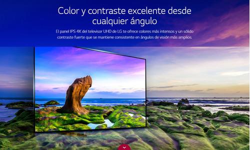 tv lg 60uj6580 60 ultrahd 4k smart - tienda oficial lg