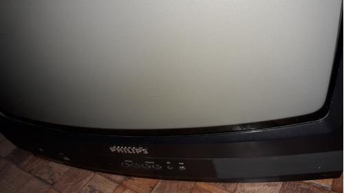tv philips 20 pulgadas, c/control; funciona escucho ofertas