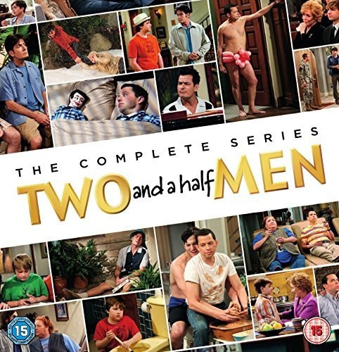 two and a half men (12 temporadas) 41 dvd nuevos!