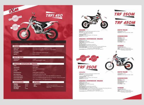 txm trf 250 chasis aluminio motor 4 valvulas enfr agua