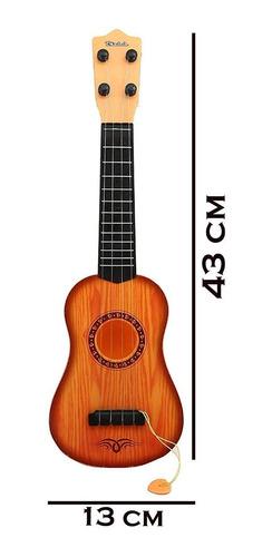 ukelele infantil mini guitarra de juguete para niños 43cm