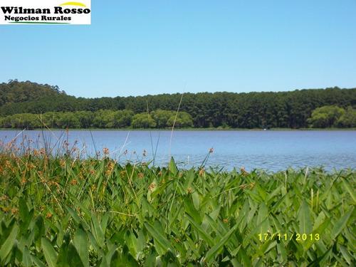 ultima chacra!! lugar paradisíaco sobre lago canelón grande