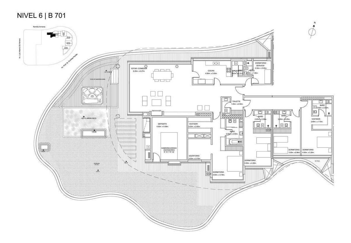último 4 dorm!! forum puerto buceo - rambla armenia 1624