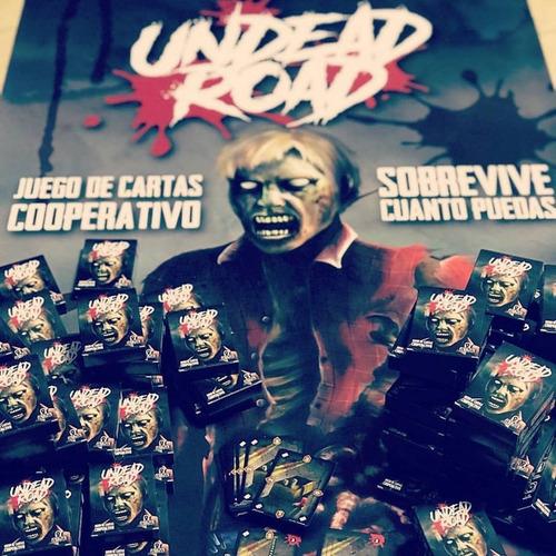 undead road - juego de cartas cooperativo - arnár estudios