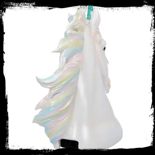 unicornio con luz, de cerámica importados de uk