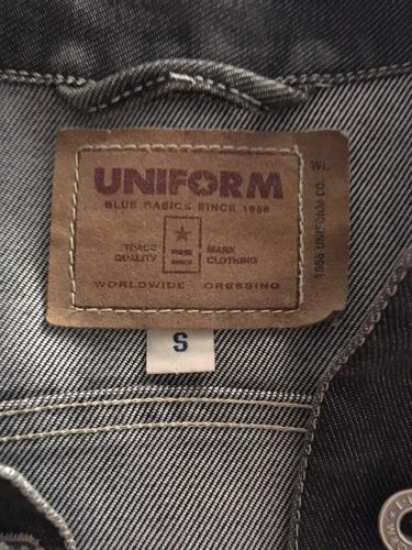 uniform campera jean