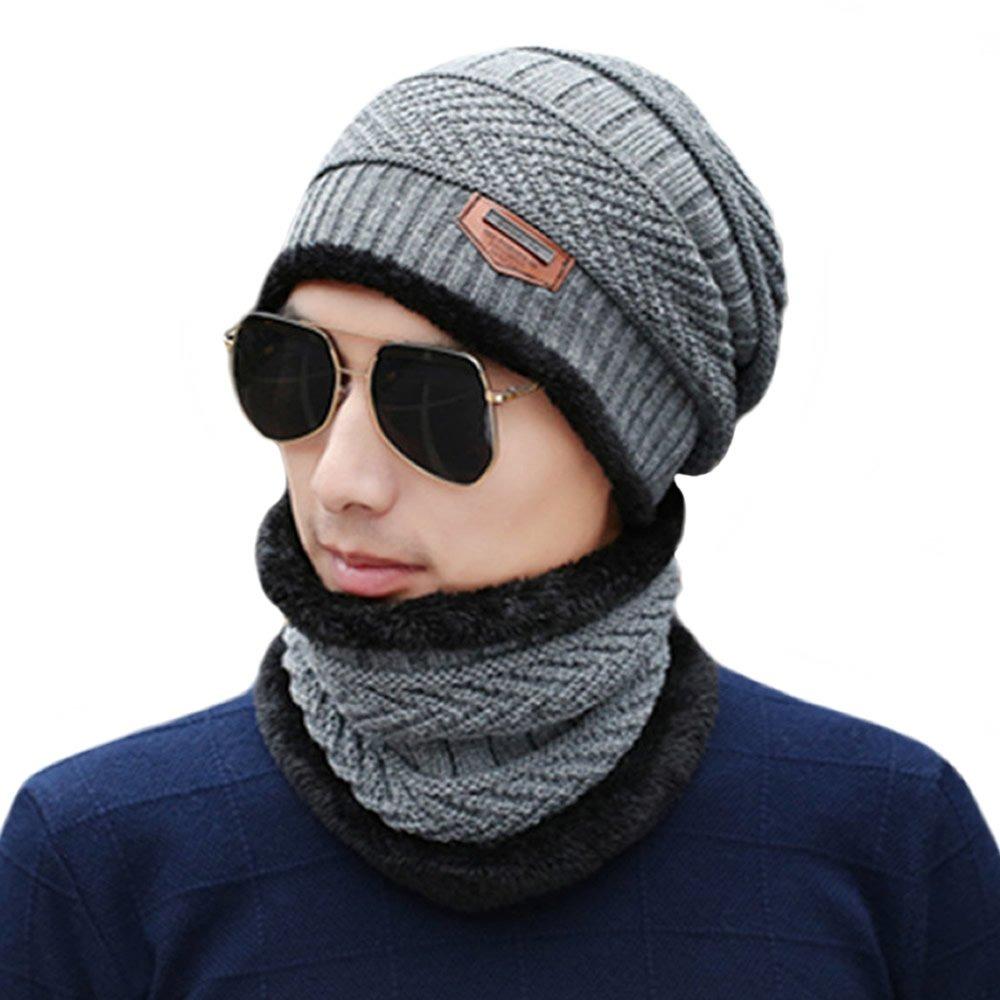 d352dcb7eaf55 unisex invierno slouchy beanie hat bufanda set cuello de. Cargando zoom.