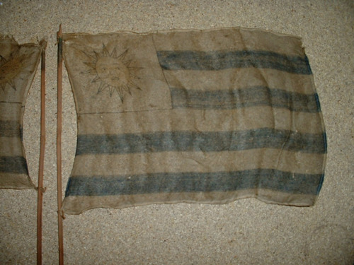 uruguay bandera antigua de seda