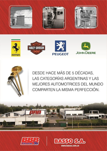 valvula admision kia besta/mazda 2.2d/sportage/rocsta/b2200