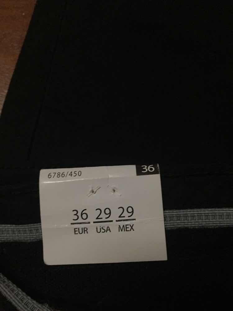Vaquero Color Negro Zara Nuevo Con Etiquetas