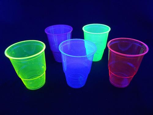 vaso azul que brilla con la luz - 300 c.c.
