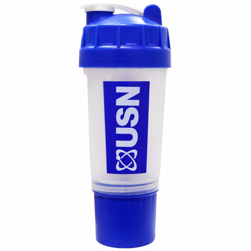 vaso batidor shaker usn 750 ml - con compartimiento