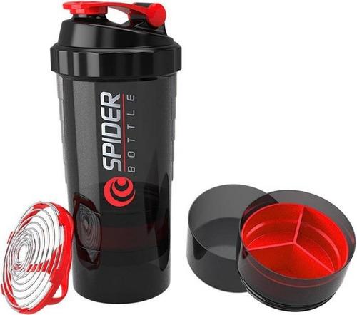 vaso mezclador batidor shaker spider bottle 3 en 1 calidad ®