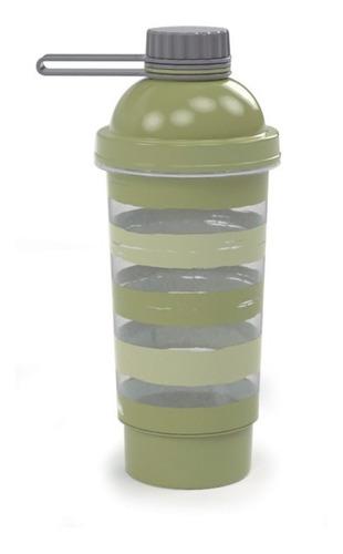 vaso mezclador shaker proteínas batidos 580ml con deposito