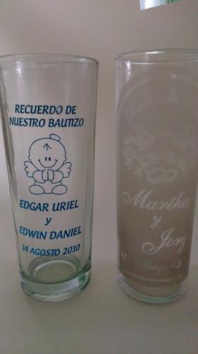 vasos cuberos impresos en serigrafia