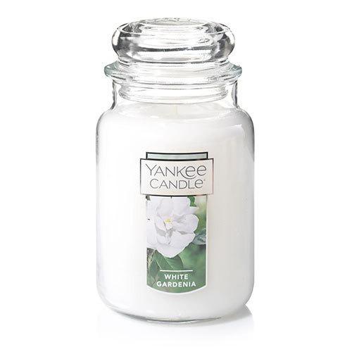 vela aromática large jar white gardenia yankee candle