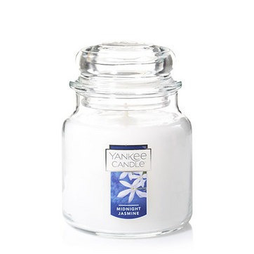 vela aromática medium jar midnight jasmine yankee candle