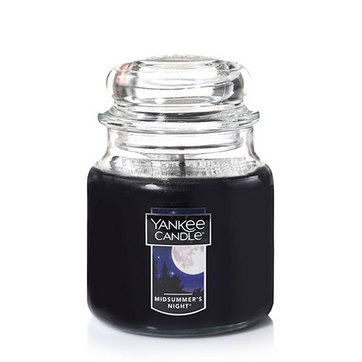 vela aromática medium jar midsummer's night yankee candle