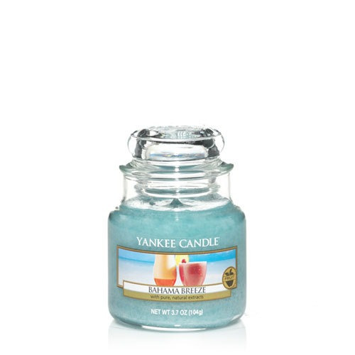 vela aromática small jar bahama breeze yankee candle