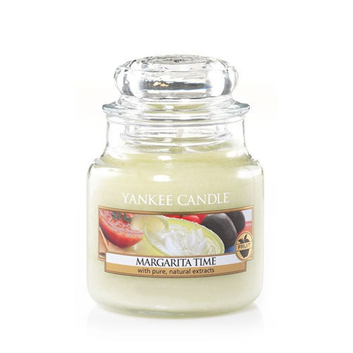 vela aromática small jar margarita time yankee candle