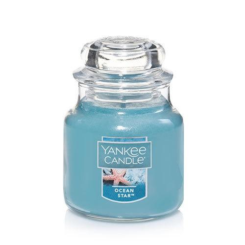 vela aromática small jar ocean star yankee candle