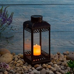 velas led c/llama restaurants pub hotel bodas eventos 15 cm