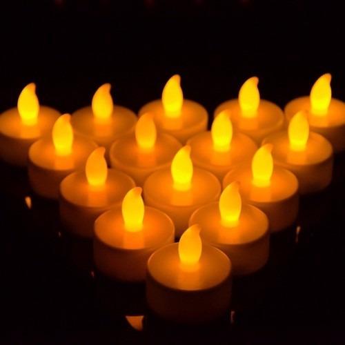 velas led con luz natural 10 unidades x $ 245