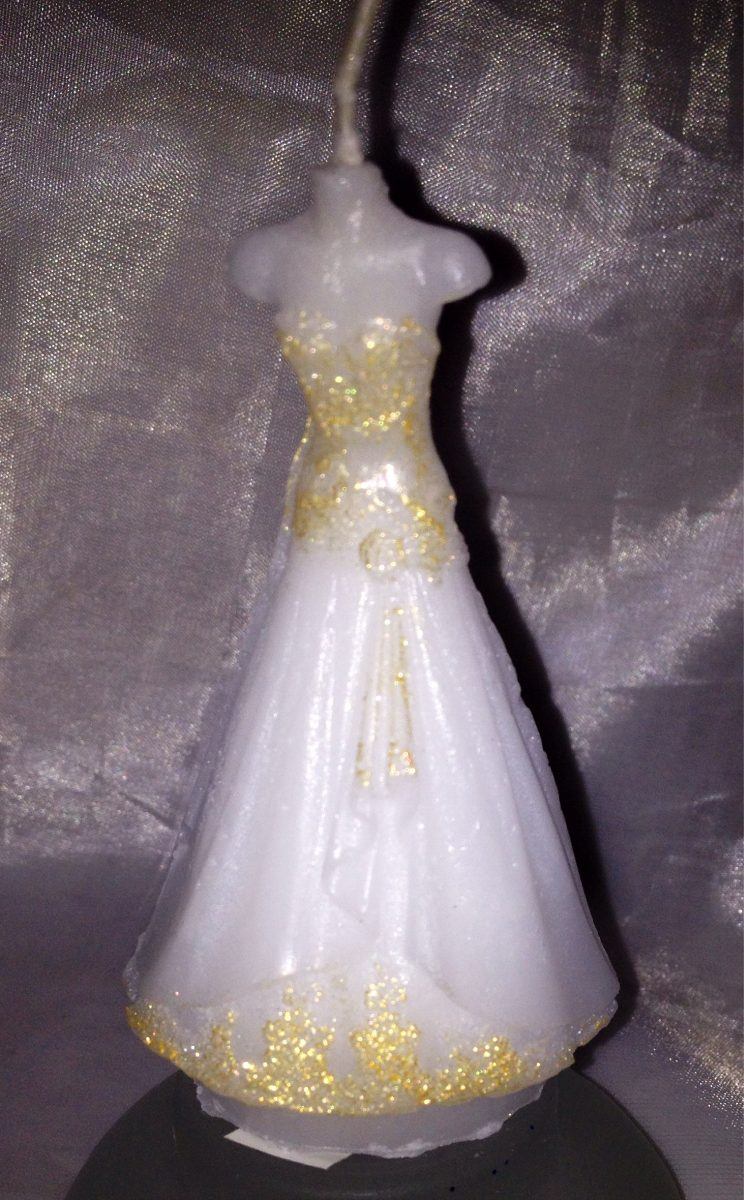 fb0ad7ddc4 Velas Vestido Para Souvenir O Arbol De La Vida 15 Años -   65