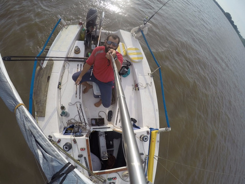 velero microtoner vela regata